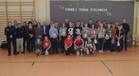 Turniej Tenisa Stołowego w Szadkowicach