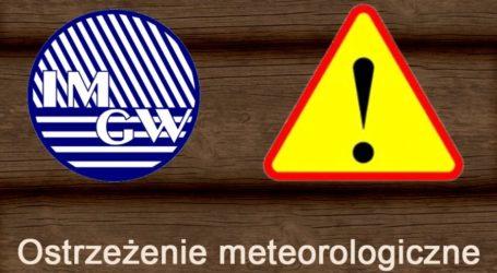 IMiGW ostrzega przed burzami z gradem!