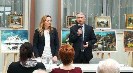 Joanna Skrzydlewska z wizytą w Opocznie