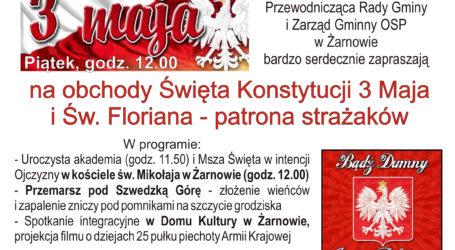 Obchody 3 Maja w Żarnowie