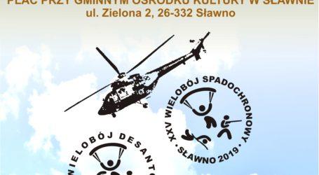 Zawody spadochronowe w Sławnie