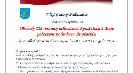 Święto Konstytucji w Białaczowie