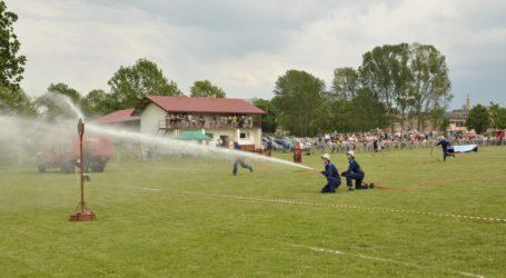 Zawody sportowo – pożarnicze w Mniszkowie