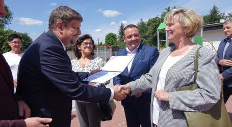Wizyta marszałka w Powiecie Opoczyńskim