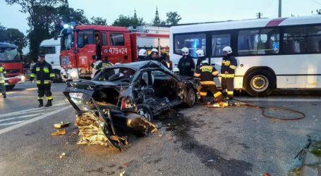 Wypadek w Paradyżu spowodował nietrzeźwy kierowca
