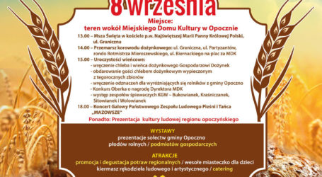 Zespół Mazowsze na Dożynkach Opoczyńskich – wideo