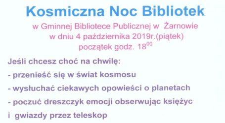 Kosmiczna Noc Bibliotek w Żarnowie