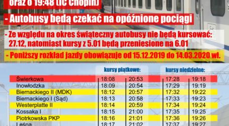 Od 15 grudnia będzie nowy rozkład jazdy autobusów MPK Opoczno na stację Opoczno Południe