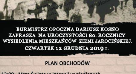 80 rocznica wysiedlenia mieszkańców Ziemi Jarocińskiej do Opoczna