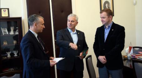 Burmistrz Opoczna spotkał się z posłem Grabarczykiem