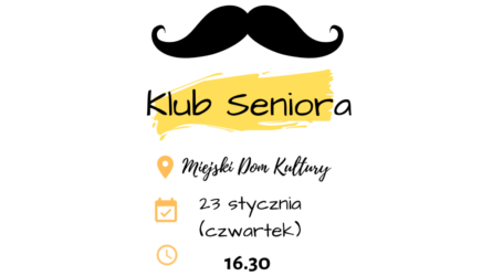 Klub Seniora zaprasza