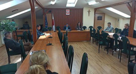 Nadzwyczajne posiedzenie Gminnego Zespołu Kryzysowego w Poświętnem